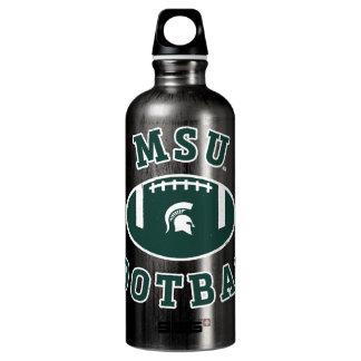 Staats-Universität 4 MSU Fußball-| Michigan Wasserflasche