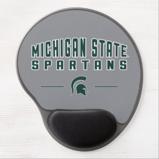 Staats-Universität 4 MSU Wimpel-| Michigan Gel Mousepad