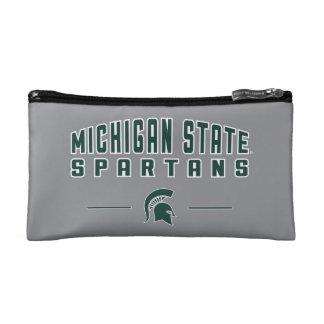 Staats-Universität 4 MSU Wimpel-| Michigan Kosmetiktasche