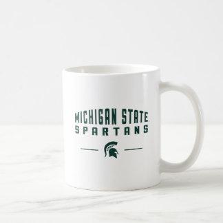 Staats-Universität MSU Wimpel-| Michigan Kaffeetasse