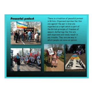 Staatsbürgerschaft, Sozialstudien, friedlicher Postkarten