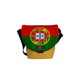 Staatsflagge von Portugal Kuriertasche