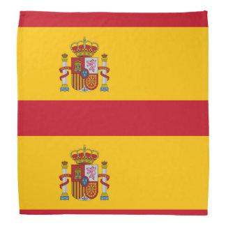 Staatsflagge von Spanien Halstuch