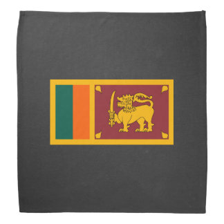 Staatsflagge von Sri Lanka Kopftuch