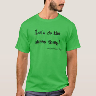 Stabby kranke Pflanzen entferntes Shirt