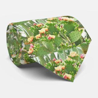Stachelige Birnen-Kaktus in der Blüten-Krawatte Krawatten