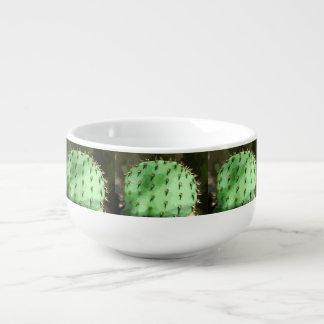 Stachelige Birnen-Kaktus-Suppen-Tasse Große Suppentasse