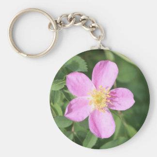 Stachelige Rose Schlüsselanhänger