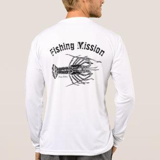 Stacheliger Hummer-Fischen-Auftrag-Shirt T-Shirt