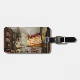 Stadt - Amsterdam NY - Leben fängt 1941 an Gepäckanhänger