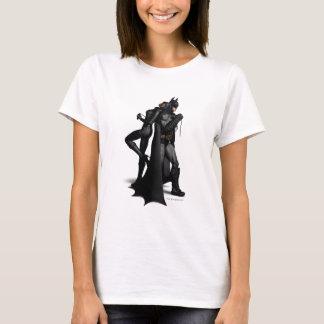 Stadt | Batman Batmans Arkham und Catwoman T-Shirt
