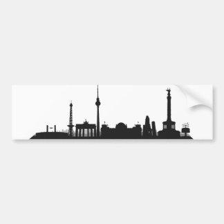 Stadt Berlin - Skyline 1c Autoaufkleber