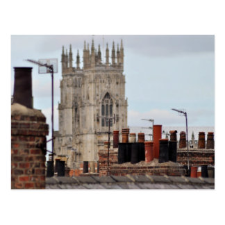 Stadt der York-Kamin-Topf-Postkarte Postkarte