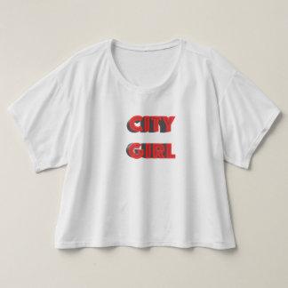 Stadt-Mädchen T-shirt