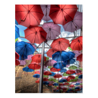 Stadt-Marktregenschirmkunst, London Postkarte