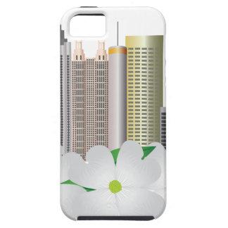 Stadt-Skyline Atlantas Georgia mit Hartriegel Hülle Fürs iPhone 5