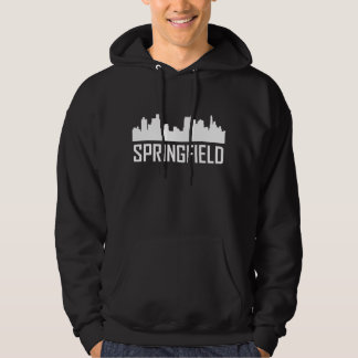 Stadt-Skyline Springfields Illinois Hoodie