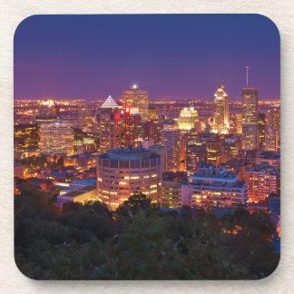 Stadt-SkylineBelvedere Kondiaronk Montreals Kanada Getränk Untersetzer