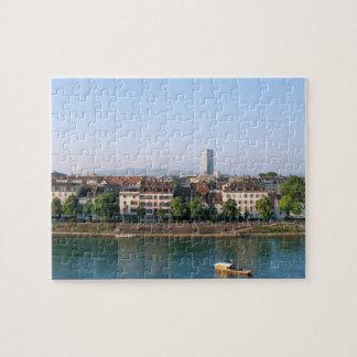 Stadt von Basel in der die Schweiz-Andenken