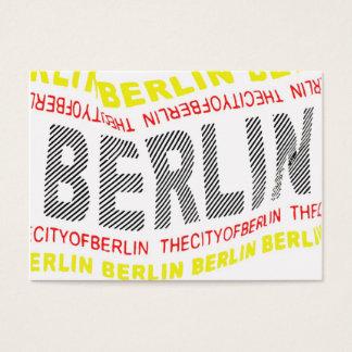 Stadt von Berlin-Logo/von Memento (1) Visitenkarte