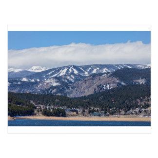 Stadt von Nederland Colorado und von Eldora Postkarte