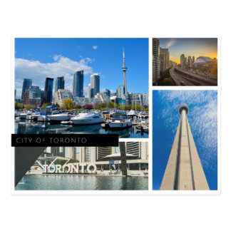 Stadt von Toronto Postkarte