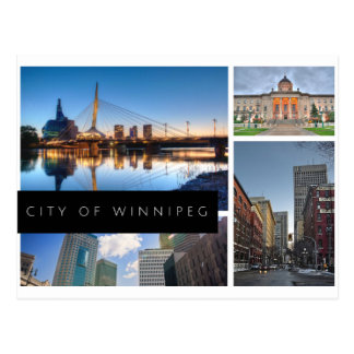 Stadt von Winnipeg Postkarte