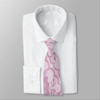 Städtische bezaubernde helle malvenfarbene krawatte