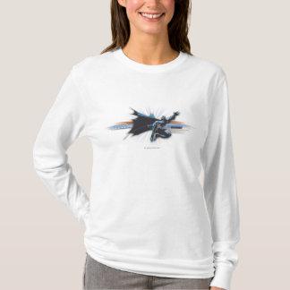 Städtische Legenden Batmans - Blau/Brown-Fliegen T-Shirt