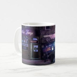 Städtische Nachtleben-Konzert-Tasse Kaffeetasse