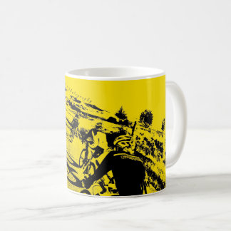 Städtischer Druck Fikeshot Kaffeetasse
