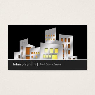 Städtischer wirklicher visitenkarte