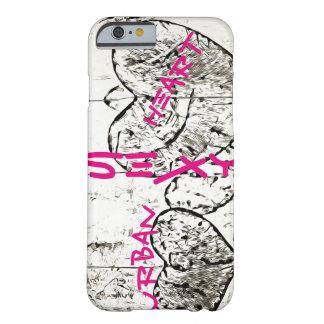 Städtisches Herz - iPhone 6/6s, kaum dort Barely There iPhone 6 Hülle