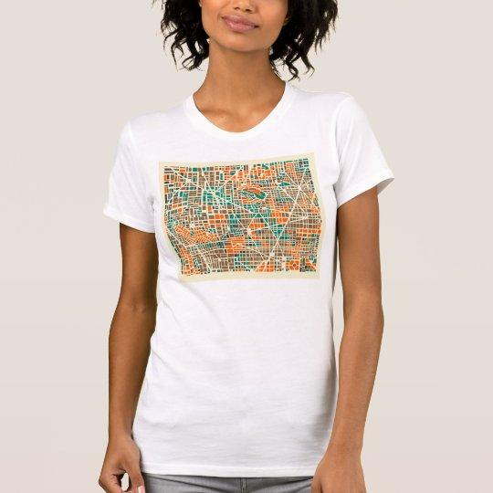 Stadtkarte T-Shirt