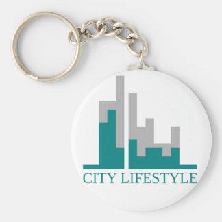 Stadtlebensstil Schlüsselanhänger