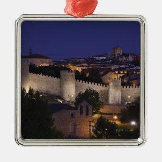 Stadtwände von Los Cuarto Postes, Dämmerung Silbernes Ornament