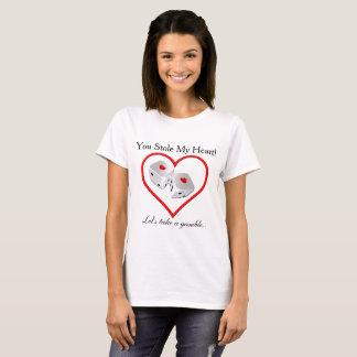 Stahl mein Herz - Glücksspiel-Shirt T-Shirt