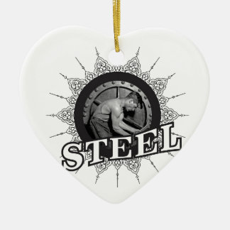 Stahlmann ja keramik Herz-Ornament