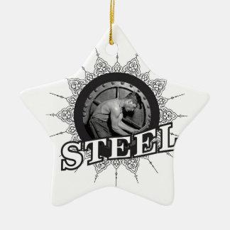 Stahlmann ja keramik Stern-Ornament