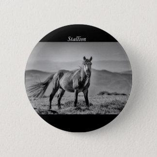 Stallion Runder Button 5,1 Cm
