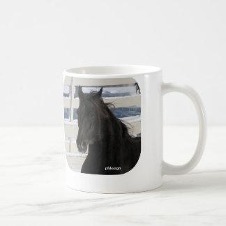 Stallions-Kopf Kaffeetasse