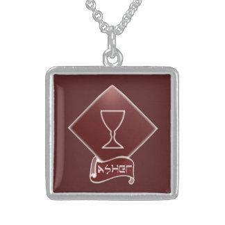 Stamm der Ashersterlingsilber-Halskette Sterling Silberkette