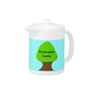 Stammbaum-kundengerechte Teekanne
