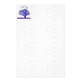 Stammbaum-Sammlung Briefpapier