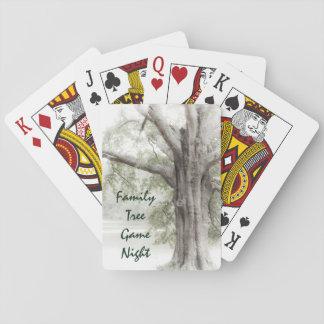 Stammbaum-Spiel-Nachtspielkarten Spielkarten