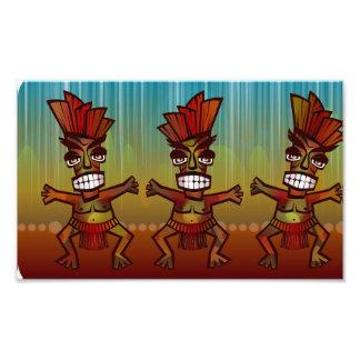 Stammes- afrikanischer Tanz Photos