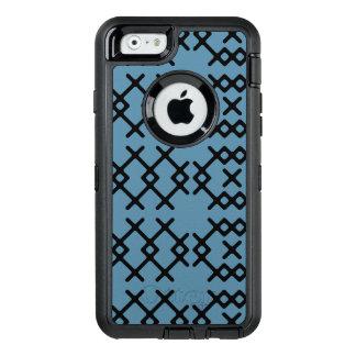 Stammes- blauer Nomade-geometrische Formen OtterBox iPhone 6/6s Hülle