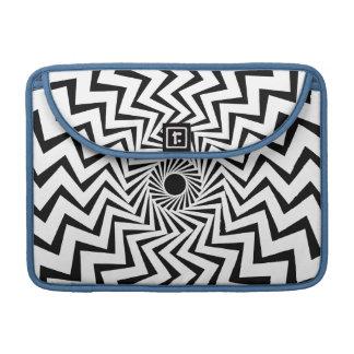 Stammes- Blitz-Bolzen MacBook Pro Sleeve