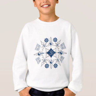 Stammes- buddhistische Symbole Sweatshirt