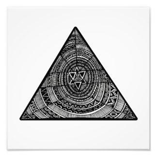 Stammes- Dreieck Photographie